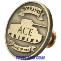 Tank Ace Medal Pins