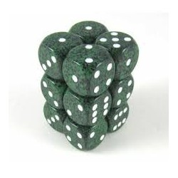 Speckled 16mm d6 Recon (12 Dice)