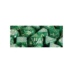 Speckled 16mm d6 Golden Recon (12 Dice)