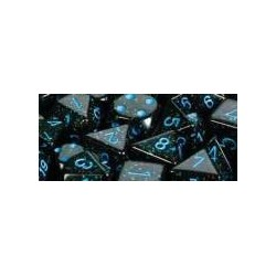 Speckled 16mm d6 Blue Stars (12 Dice)