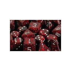 Speckled 16mm d6 Silver Volcano (12 Dice)