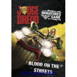 BLOOD ON THE STREETS-JUDGE DREDD SUPPLEMENT