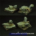 Rocky 40mm set3 square bases (2)