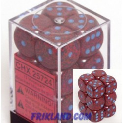 Speckled 16mm d6 Veronica (12 Dice)