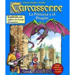 Carcassonne – La Princesa Y El Dragon