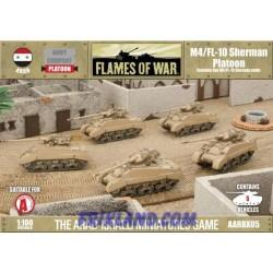 M4/FL-10 Sherman Platoon