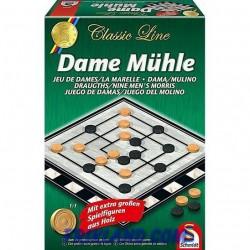 Dame Muhle (Damas + Molino)