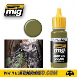 FS 34151 Zinc Chromate Green (Interior Green)
