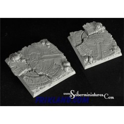 Egyptian Ruins Square Bases 95mm/45mm 2