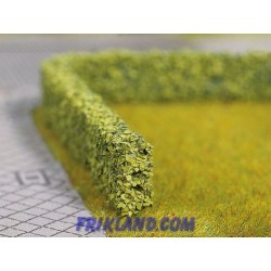 Setos artificiales verde claro/Model Hedges light green 10x6 mm