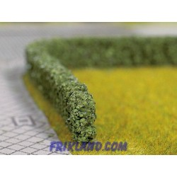 Setos artificiales verde oscuro/Model Hedges dark green 10x6 mm
