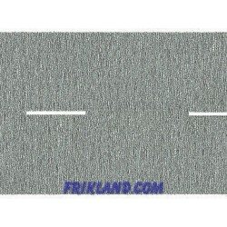 Carretera gris/Country Road grey 200x4,8cm(in 2 rolls)