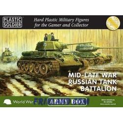 15mm Mid/Late War Russian Tank Battalion
